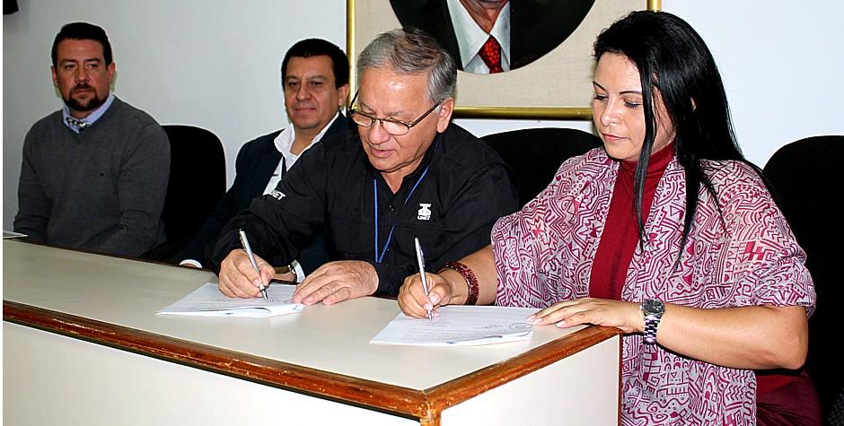 Firmada carta de intención UNET - CNP Táchira