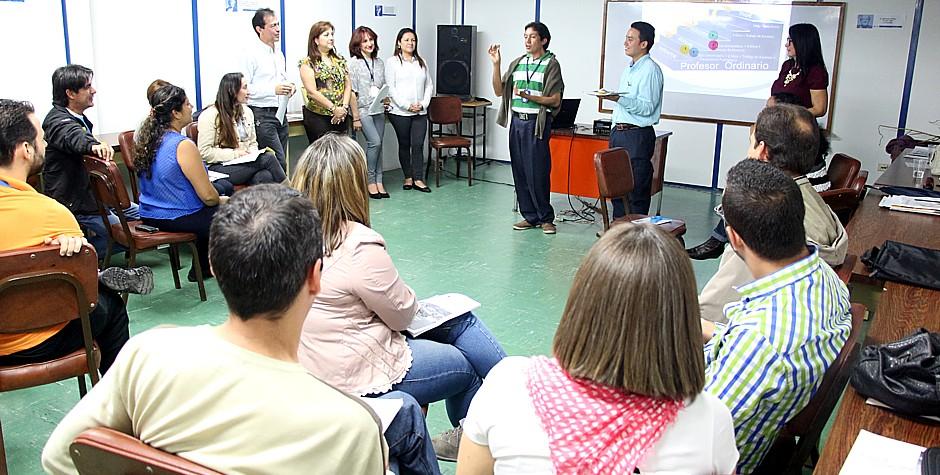 Se cumplió tercera fase de inducción docente
