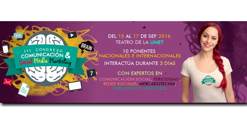 En la UNET congreso de comunicación y social media marketing