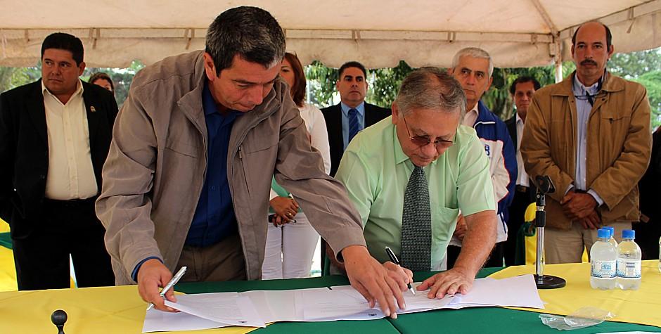 UNET y Alcaldía Andrés Bello firman convenio