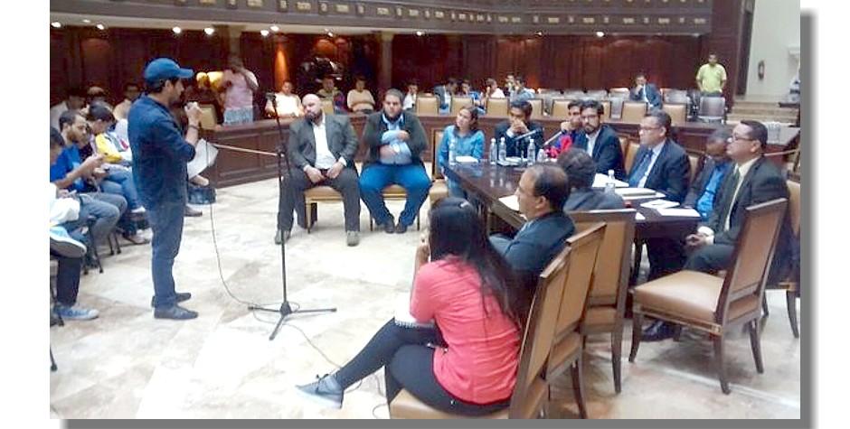 FCU-UNET expuso situación universitaria ante la Asamblea Nacional
