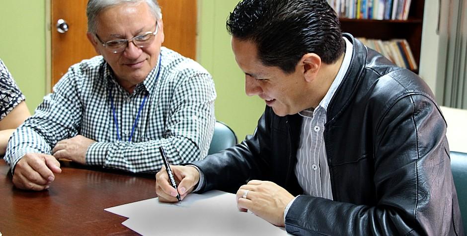 UNET y empresa mexicana firmaron acta de intención