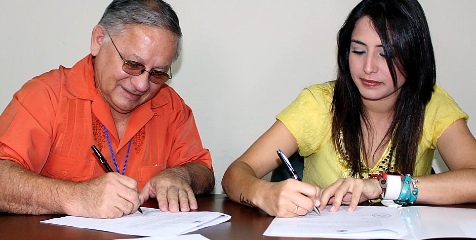 UNET y Alcaldía capitalina firman convenio marco