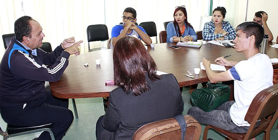 estudiantes de comunicacion social de la ula 11