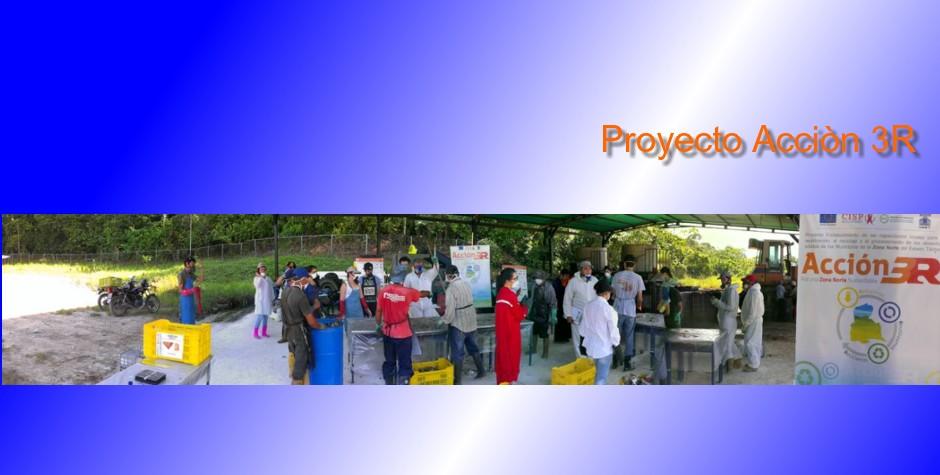 UNET, CISP  y un equipo multidisciplinario ejecutaron primera fase de Proyecto Acción 3R