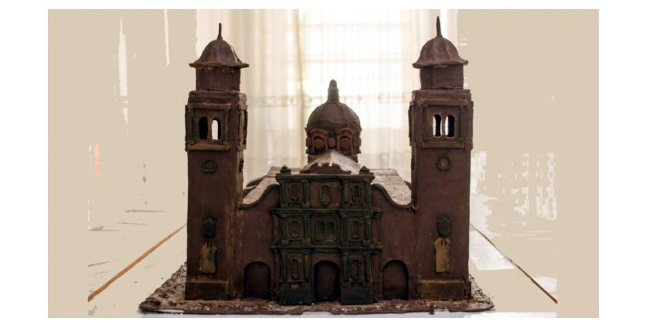 Estudiantes de la UNET  hacen arquitectura con chocolate