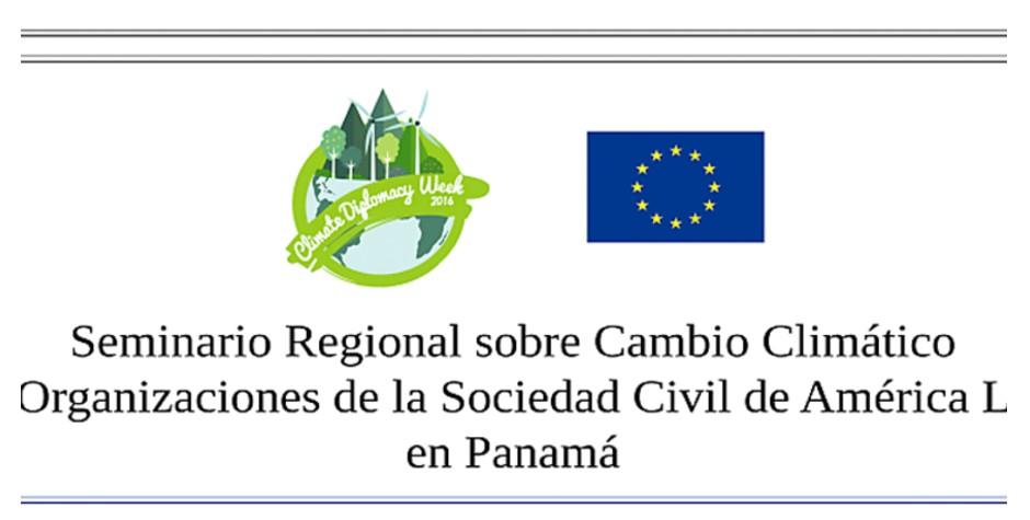 UNET presente en seminario sobre cambio climático en Panamá