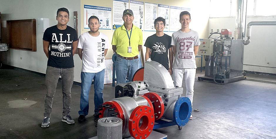 Acondicionamiento de  turbina a vapor para uso didáctico y académico