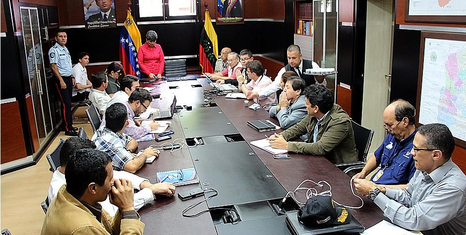 Autoridades y decanos sostienen reunión con secretaria de Gobierno